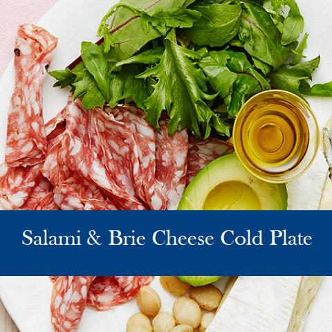 Salami & Brie Cheese Cold Plate